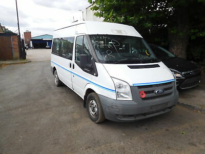 Ford Transit 2.2 T300 Mini Bus 2006-2016 Door Bare (Front Driver Side) White
