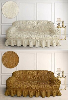 Miraculous 100 Cotton Large 3 Seater Sofa Double Bed Settee Throw Download Free Architecture Designs Rallybritishbridgeorg