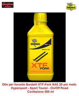 Olio Per Forcelle Bardahl Xtf Fork Sae 20 Per Moto On/off Road - Naked - Custom