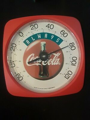 1994 Colorful Always Coca-Cola 12 inch Thermometer