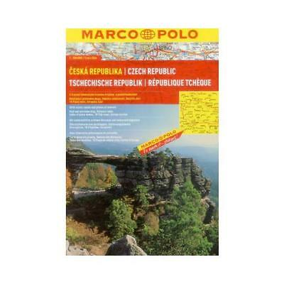 Czech Republic Marco Polo Atlas by Marco Polo (author)