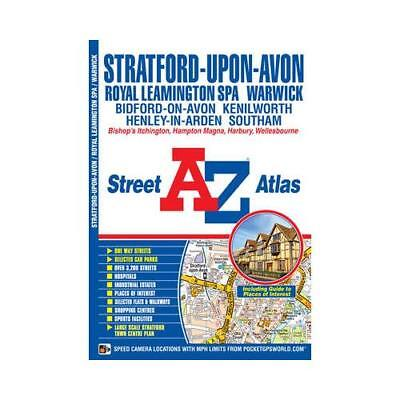 Stratford Upon Avon Street Atlas by Geographers' A-Z Map Company (author)
