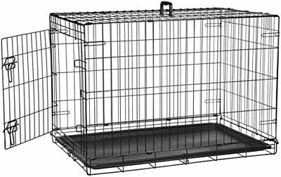 Extra Large Dog Crate Kennel Huge Folding Pet Wire Cage Giant Breed Size
