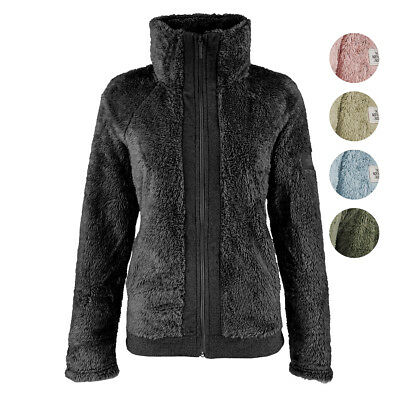 The North Face Women S Furry Fleece Full Zip Jacket 49 99 Picclick