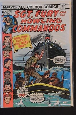 Sgt. Fury and His Howling Commandos #128