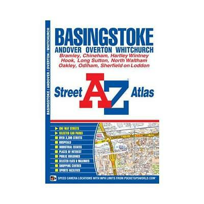 Basingstoke Street Atlas by Geographers' A-z Map Company (author)