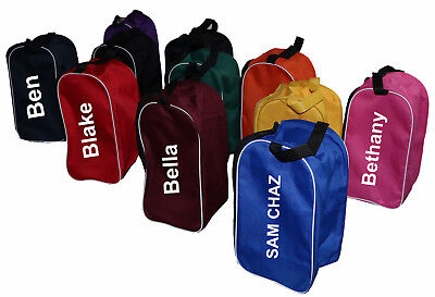 Personalised Boot Bag Football Rugby Toiletry Sports School Travel Shoe Bag