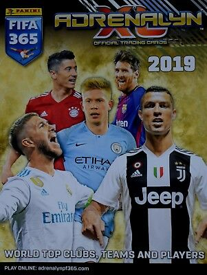 PANINI ADRENALYN XL FIFA 365 2019 - 125 DIFFERENT Cards