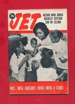 JET MAGAZINE 12/23/1965 NEGRO OWNS RICHEST COTTON GIN in SELMA Mrs DICK Gregory