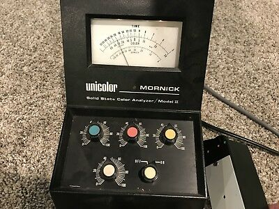 Unicolor Mornick Solid State Color Analyzer Model II