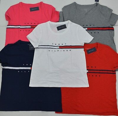 NWT Tommy Hilfiger Women's Tee (T) Shirt/Blouse Short-Sleeve Relaxed Fit