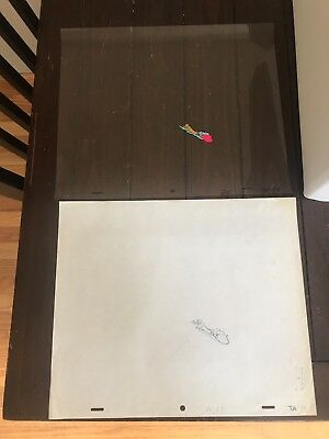 Animalympics Otter Dean Production Cels Animated Film Rare 1980s with Art