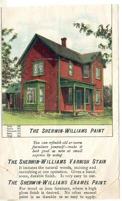 The Sherwin-Williams Paint (Trade Card) 1888