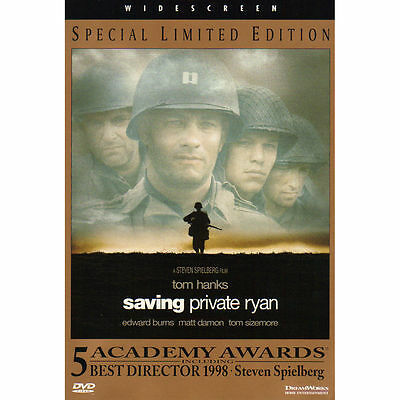 Saving Private Ryan (Single-Disc Special Limited Edition) DVD Excellent Hanks