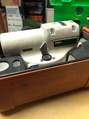 Nikon AC-2S 360 Automatic Level w/ Case