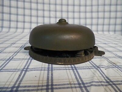 Old Vintage Antique Door Bell Brass & Cast Iron