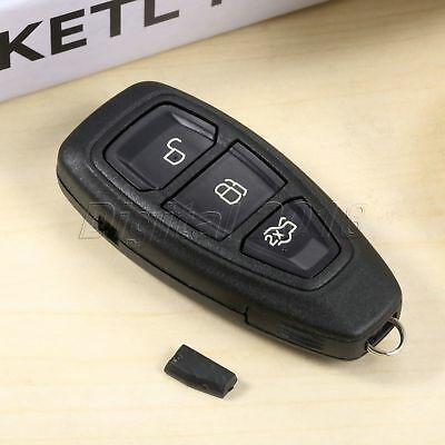 1Pc Remote Key 3 Buttons 433MHz ID83 4D63 Chip Fit For Ford Focus 2011-Present