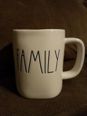 Rae Dunn Artisan Collection by Magenta Family Coffee Mug Large Letters