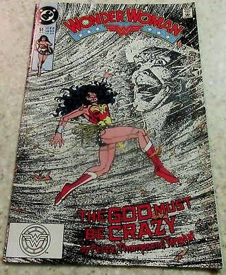 Wonder Woman 51, (NM- 9.2) 1991, 30% off Guide!