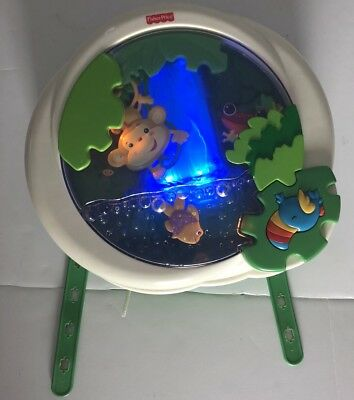 Fisher Price Rain Forest Waterfall Peek-a-Boo Baby Musical Soother Crib Mobile