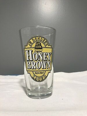 Honey Brown Lager Pint Glass - Jim Dundee's Brewmasters Series