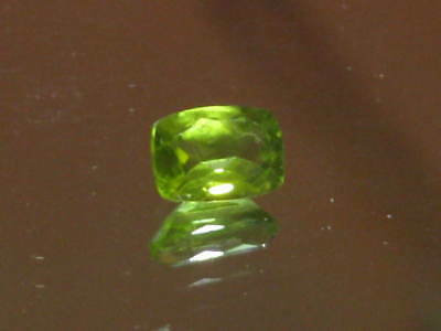 Peridot, Rectangle Cushion Cut Natural Arizona Peridot Gems, August Birthstone