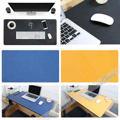 PU Leather Large Mouse Keyboard Pad Computer Gaming Desk Top Mat PC Mousepad New