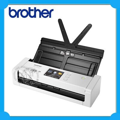 Brother ADS-1700W Compact/Portable Wireless Document Scanner /w Touchscreen+ADF