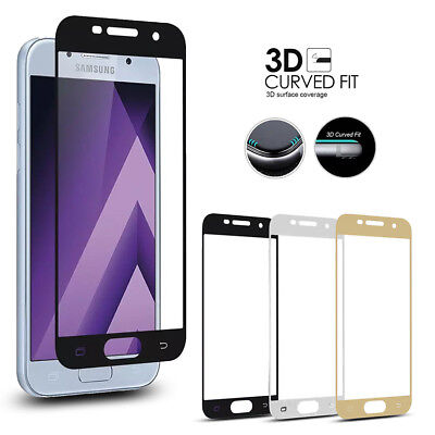For Samsung Galaxy J3 J5 J7 Pro Prime 3D 9H Tempered Glass Screen Protector Film