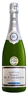 Charles de Cazanove Brut Tradition NV 750mL ea - Sparkling Wine - Origin France