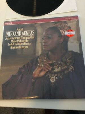 Purcell Dido And Aeneas LP Raymond Leppard 1523