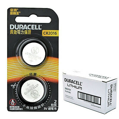 Duracell CR2016 CR2025 CR2032 LR44 Button / Coin Lithium Battery Lock Power