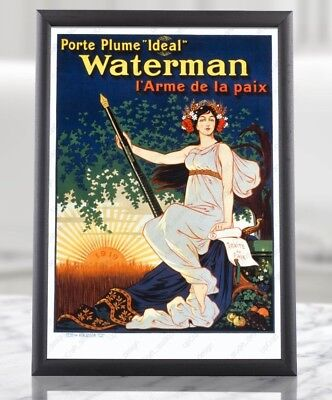 Antique Post WWI Poster - World War 1 I 1919 French Propaganda Art Reproduction