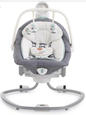 Joie Serina 2 In 1 Swing Rocker Chair Excellent Condition RRP £150