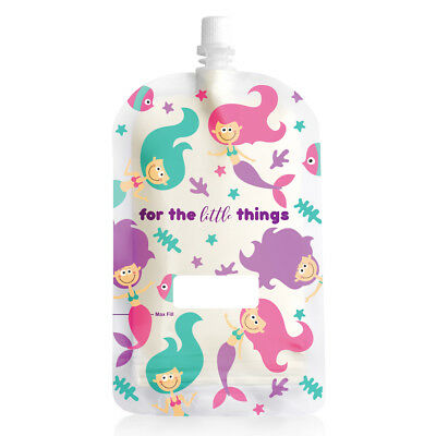NEW! Sinchies 200ml Reusable Food Pouches BPA Free Infant Baby Pouch 1/5/10 Pack