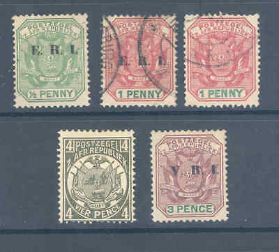 Transvaal Selection Fine Mint/used