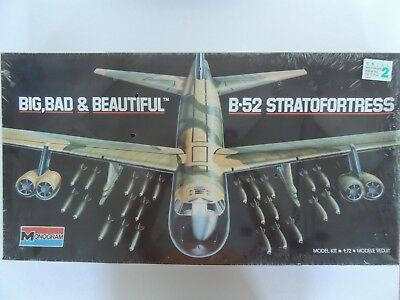 Monogram Big, Bad, & Beautiful B-52 Stratofortess Vintage Kit relesead 1989