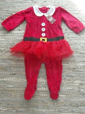 Bnwt Next Baby Girls Christmas Outfit Age 12-18 Months