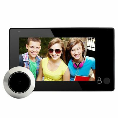 4.3-inch LCD digital video door peephole doorbell camera infrared night vis M4D6