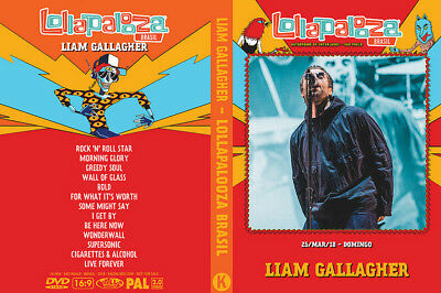 Liam Gallagher DVD 2018 Lollapalooza Brazil Live Greedy Soul Oasis