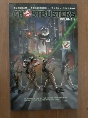 Ghostbusters Volume 1 IDW Graphic Novel