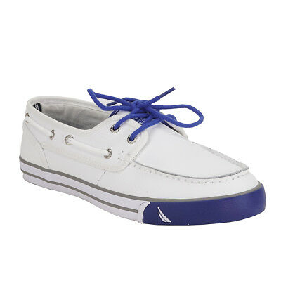 Nautica Men's Low Leather Deck Shoes