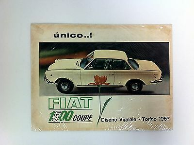 1967 FIAT 1500 Coupe Vignale Argentina Argentine Advertisement RARE - #(F-34)