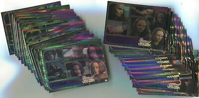 WOMEN OF STAR TREK VOYAGER 2001 Holofex Card LOT!!! 86 Cards NM/M #1