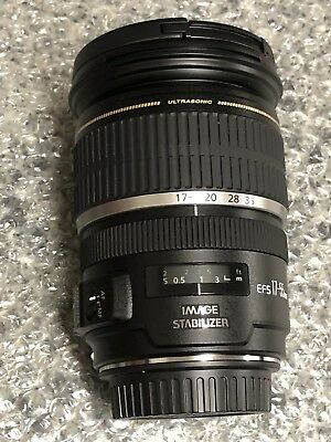 Canon EF-S 17-55mm f/2.8 IS USM Lens Mint Free Shipping