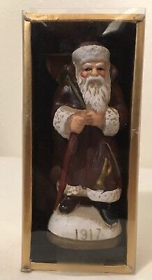 Memories Of Santa collection Ornament Christmas Reproductions 1917 Brown Robe