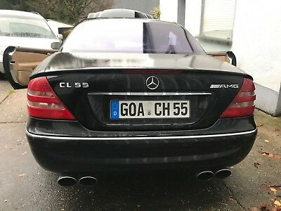 MERCEDES BENZ CL 55 AMG W215 2002 UK RHD V8 360PS MiT ABC PROBLEM