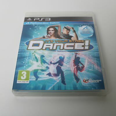 IT'S Your stage Dance - SONY playstation 3 PS3 Juego - Mint