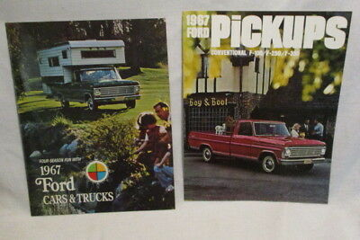 1967 Ford Pick-Up Trucks And Ford Cars And Trucks Brochures More