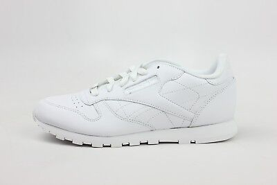 Reebok Classic Leather All White On White Mens Size Classic Sneakers J90117
